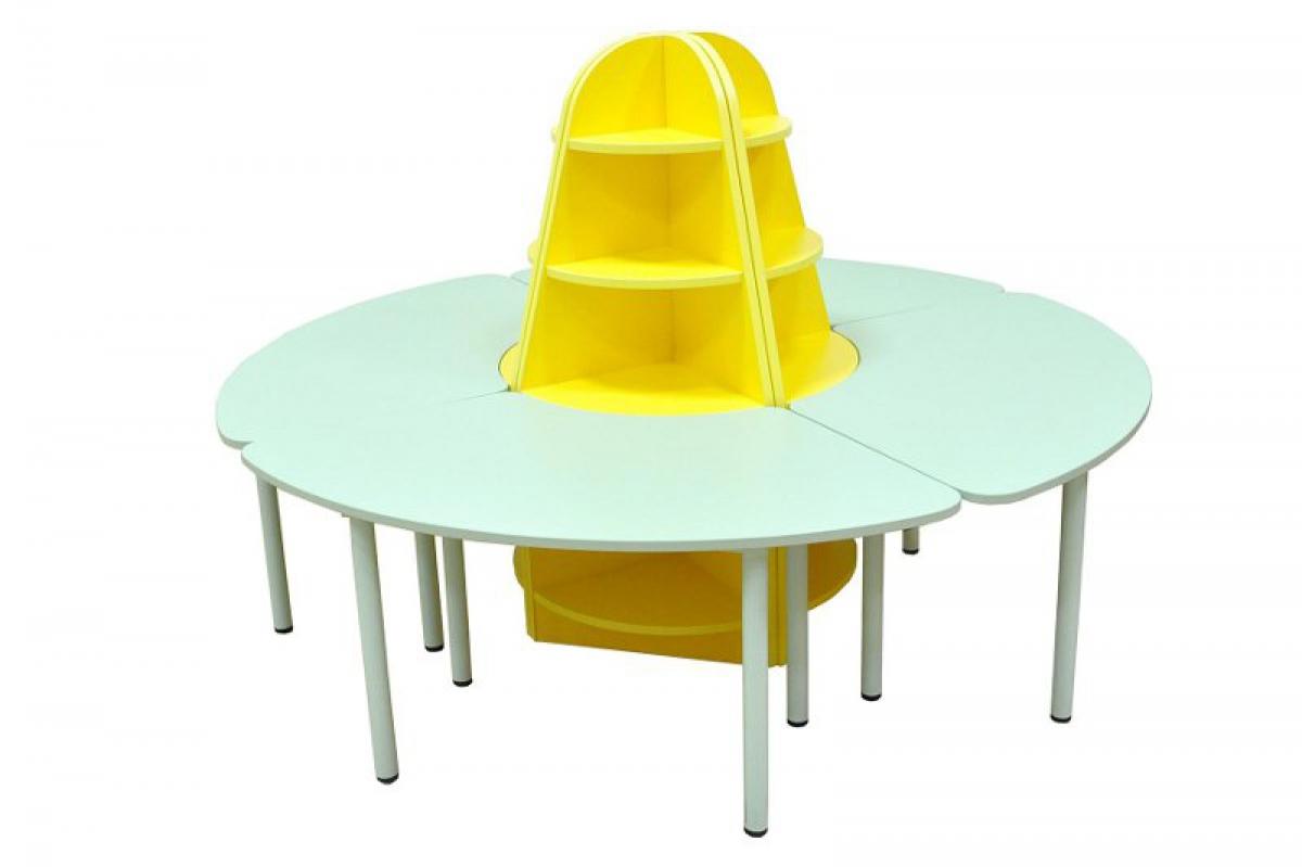 Купить дидактический набор мебели ромашка оптом и в розницу.
