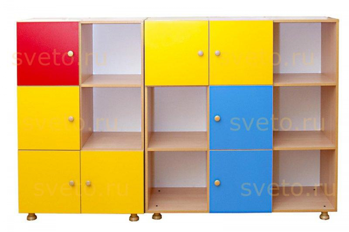 Детские шкафы для игрушек - главная идея.