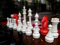 Шахматы садовые 100 см