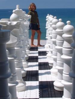 Шахматы гигантские (парковые) 122 см