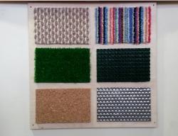 Тактильная панель «Разные текстуры»