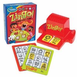 Настольная логическая игра детское лото Обучай-ка Zingo