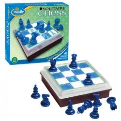 Настольная логическая игра головоломка Шахматы для одного Solitaire Chess