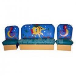 «Сказка» комплект детской мягкой мебели