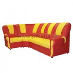 «Вита» комплект детской мягкой угловой мебели (3+1+3)