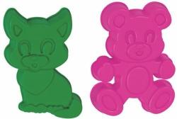 Формочки (котенок+медведь)